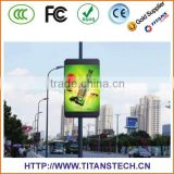 Tians Creative Full Color LED Lamp Pole Video Display Screen