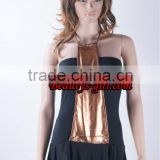 Elegant black and golden sexy adult babydoll dress