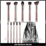 Premium Synthetic Coffee Kabuki Cosmetics Brush with Drawstring Bag, Amazon Hottest Artist Brushes Set
