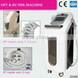 opt system wrinkle remover ipl shr hair removal machine