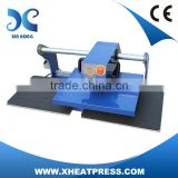 pneumatic textile auto heat transfer printer air driven t-shirt digital heat press machine FJXHB2