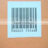 Tamperproof Disposable RFID Print Barcode Labels for Car Parking System