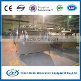 Industrial tunnel type Chinese pickles microwave sterilization /sterilizing machine