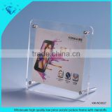 Wholesale high quality low price acrylic picture frame with standoffs