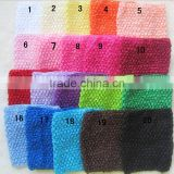Wholesale 6inch crochet headhand /crochet baby tutus /crochet tube top