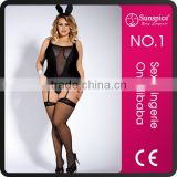 Hot Sale Erotic Lingerie Sexy Girl Bunny Costume for Party
