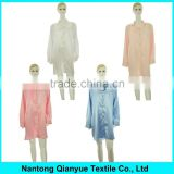 Fancy Plus Size Satin Nightshirts for Women