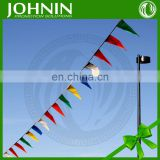 Sports Customized Hot Sale Colorful Triangle Flags Bunting