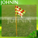 Flag Manufacturer polyester customized sport use soccer corner flags