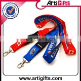 Wholesale cheap polyester lanyard neck strap