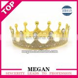 Fashion design women crown jewelry hair crown bride tiara wholesale