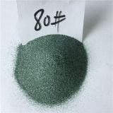 China hot sale green silicon carbide /green nicalon grains 80# 100# for sandblasting