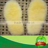 Wholesale Australian Sheepskin Wool Boot Insoles Shoe Bottom Foot Warmer Insole Soft sheepskin insoles wholesale