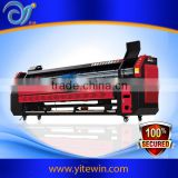 Guangzhou Cheap Comparative 3.2m wide format 8 colour flex uv roll to roll flatbed printer