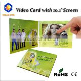 "Wholesales 10.1"" inch HD LCD touch Screen Video Brochure Digital for Advertising/promotion"