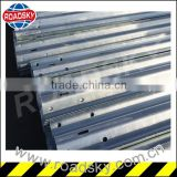 Bearing Steel Armco Galvanized Highway Guardrail Used