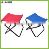 Folding portable metal camping stool HQ-6000K