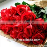 2015 High Quality new decorative artificial silk flower/artificial rose flower made in china wholesale