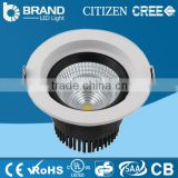 Alibaba China supplier 10 Watt RGB low price cob led downlight dimmable led downlight led recessed downlight D115*H84mm 90lm/w