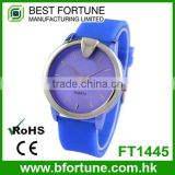 FT1445 Wholesale cheap PVC kids plastic three hands movement analog watches