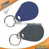 ABS colorful writable T5577 smart rfid keyfob