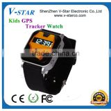Factory price bluetooth tracker featurely android gsm gps kids security smart watch/gps watch tracker for kids