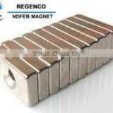 NdFeB Magnet Triangular with Cup Hole