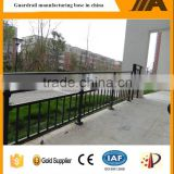 China experienced manufacturer of steel pipe stair handrails with low price AJ-Stair 001