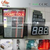 RGX led currency exchange sign \ led digital number exchange rate display \ led exchange rate sign