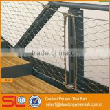 Architectural decoration wire mesh used for stairs balustrade