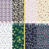 Flowers designs painting fabric /China supplier 4 way stretch printed underwear nylon spandex fabric for female underwear