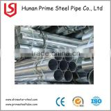 wholesale cold rolled galvanized pipe size chart/gi pipe for greenhouse