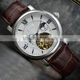Most popular men watch set japan movement no battery automatic watch