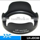 JJC LH-JDC60 Lens Hood for CANON LH-JDC60 used on CANON PowerShot SX1 IS/SX10 IS/SX20 IS/SX30 IS/SX40 IS