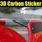 1.52*30m black 3D carbon fiber wrap foil air channels