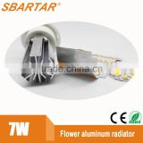 New replacement 310 degree 7W led bulb /high led bulb raw material