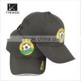 Beautiful design good quality custom leather strap flat brim baseball cap