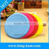 silicone rubber pet frisbee toy