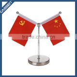 Hot promotional polyester window hand country car mirror flag