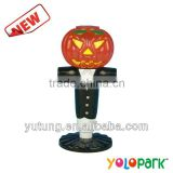 Halloween Pumpkin Light ,plastic halloween light up pumpkin ,hot selling plastic halloween pumpkin toy with light up