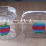 transparent pvc cosmetic bags with zipper                                                                         Quality Choice