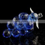 blue crystal grape cluster figurines