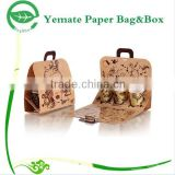 high ending custom printed paper handmade cardboard coffee mug gift box packaging with insert to fix hold