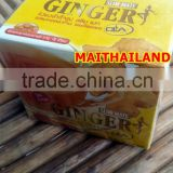 Ginger Powder Ginger Tea Drinking For Slim Plus Collagen & CLA Ginger Powder Sugar Free 150g (15gX10Sachet)
