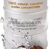 COCONUT WATER WITH COCONUT PULP IN GLASS BOTTLE 290 ML.- Rosun Natural Products Pvt Ltd INDIA