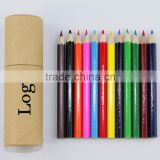 "3.5"" Superior Quality Nature Wood Color Pencil/Wooden Pencil/Standard Pencil/12 Color Pencil Pencil Drawing Set in a box"