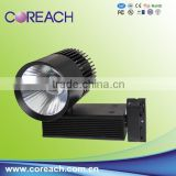 CE,RoHS,UL Certification and Aluminum Lamp Body Material cob led track light 30W Coreach