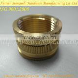 Brass customized round nut