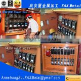 XAX24DB Metal fabrication Manufacturer terimal block clamp screw din rail conduit fuse metal concrete mixer truck control box