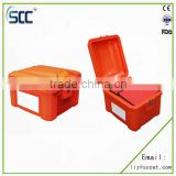 SCC supply Catering food pizza delivery back box for motorcycle and scooter